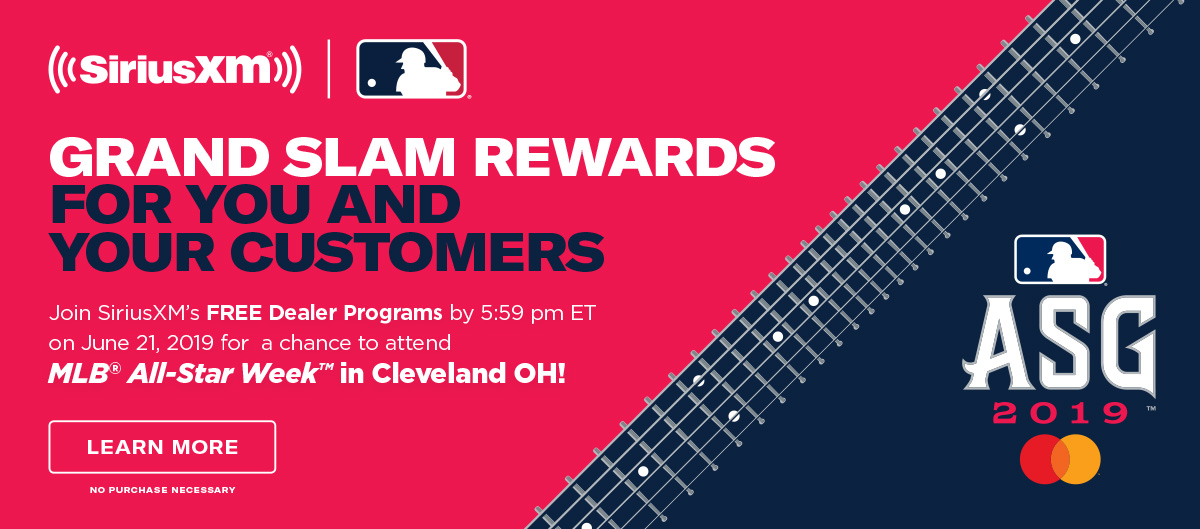 Join our FREE Dealer Programs by 5:59pm ET on June 21, 2019 for a chance to attend MLB All-Star Week in Cleveland OH!